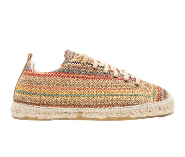 Sneakers Yucatan taupe stripes